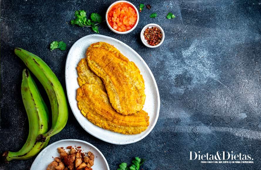 Banana verde possui muitas fibras e ajuda no combate ao diabetes