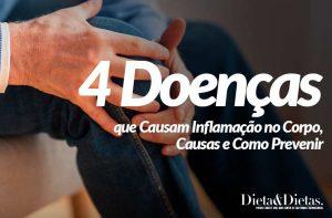 4 Doenças que Causam Inflamação no Corpo, Causas e Como Prevenir