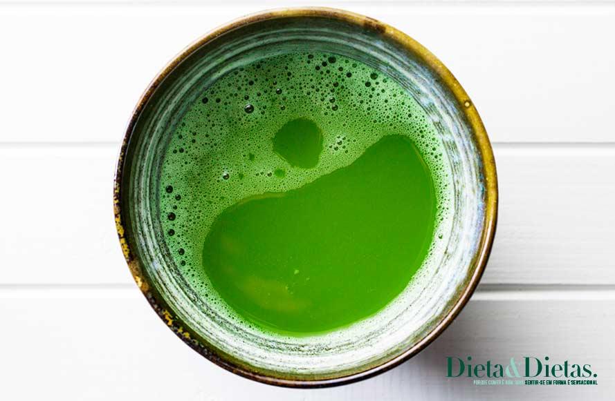 Chá verde - faz parte dos Alimentos Termogênicos