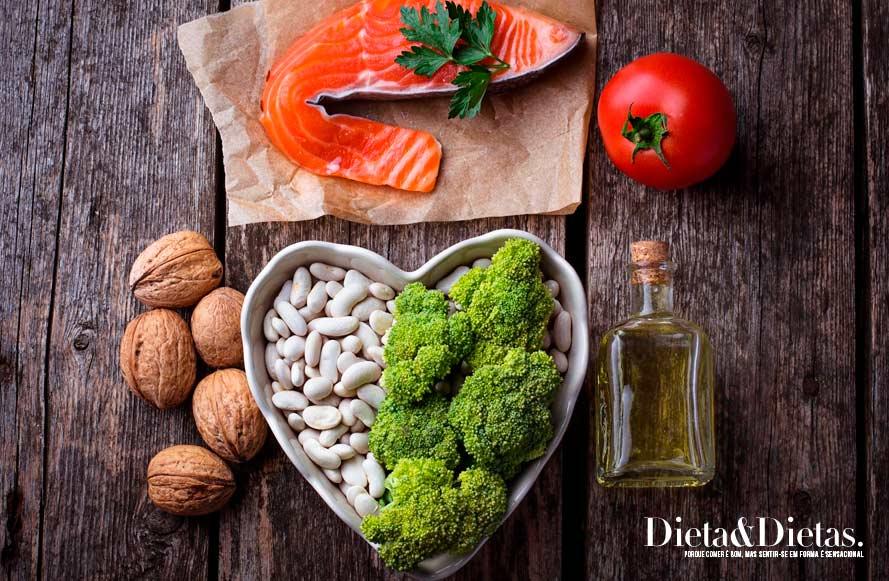 9. Coma alimentos sem gordura