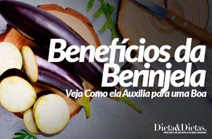 9 Benefícios da Berinjela: Veja Como ela Auxilia para uma Boa Saúde