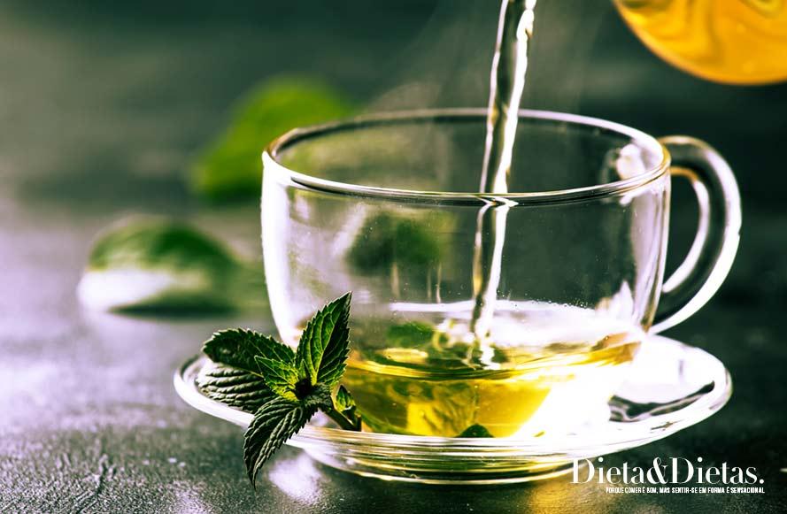 O Chá Verde previne Diabetes