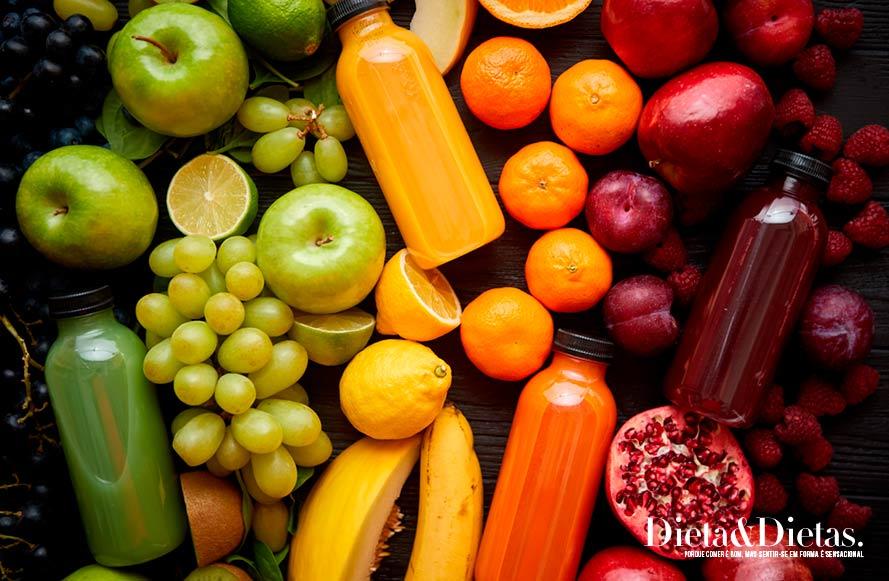 Quais são os alimentos que posso comer na dieta do arco íris