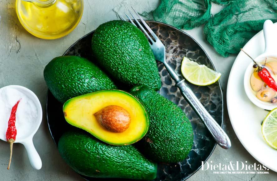 abacate Previne o envelhecimento precoce