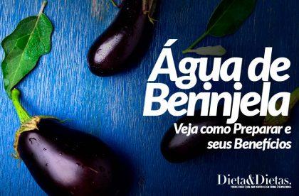 Água de Berinjela: Veja como Preparar e seus Benefícios