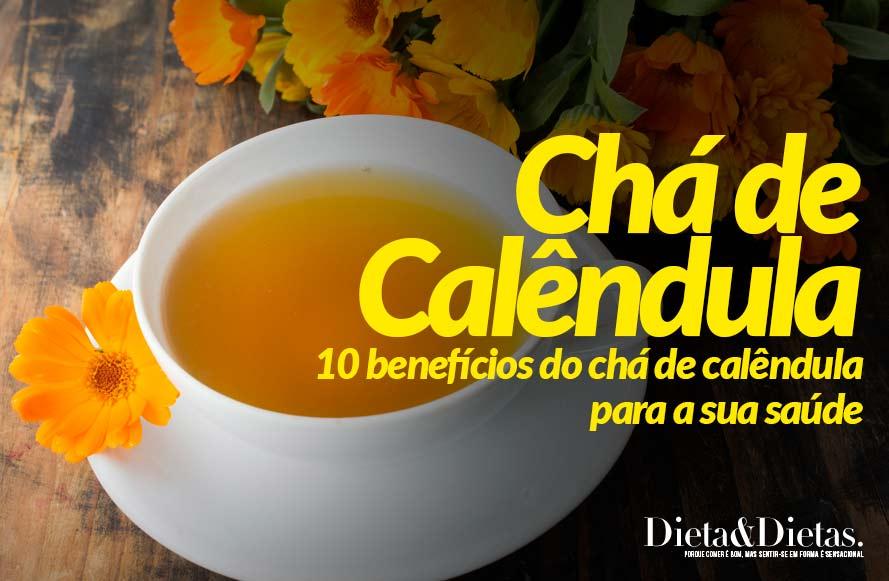 10 benefícios do chá de calêndula para a sua saúde