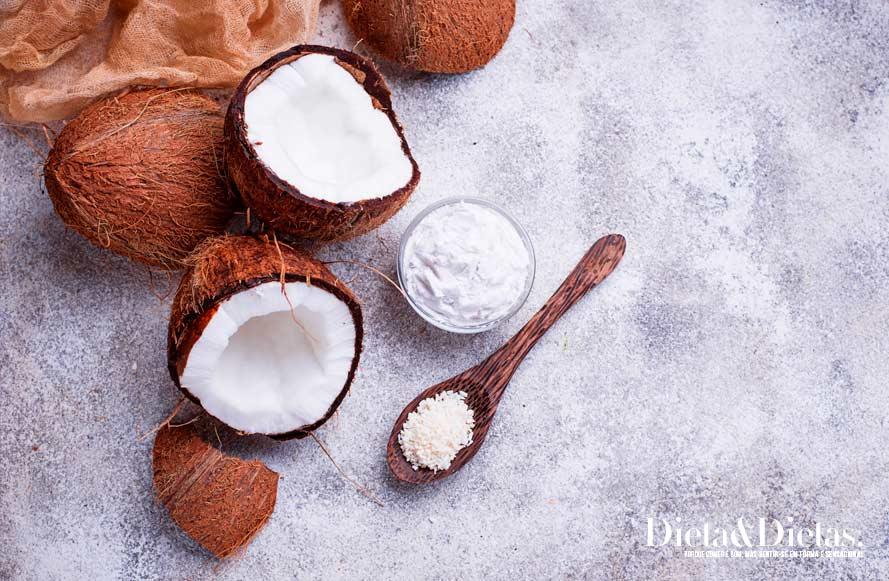 óleo de coco aumenta a imunidade