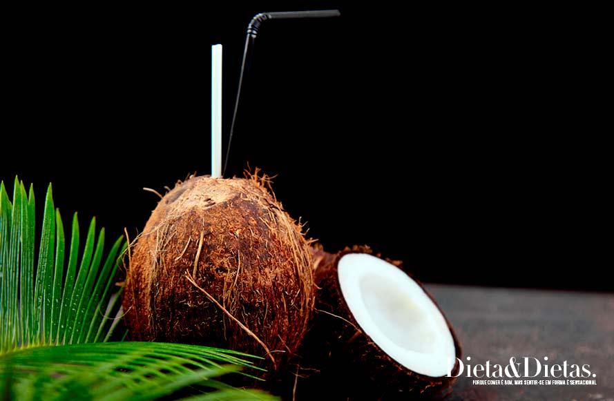 Tabela nutricional da água de coco