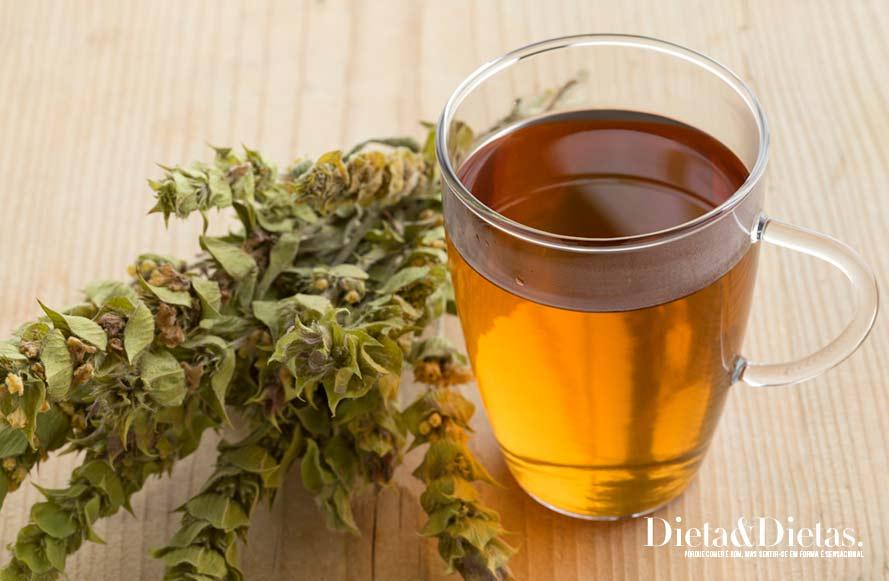 Tabela nutricional do chá verde