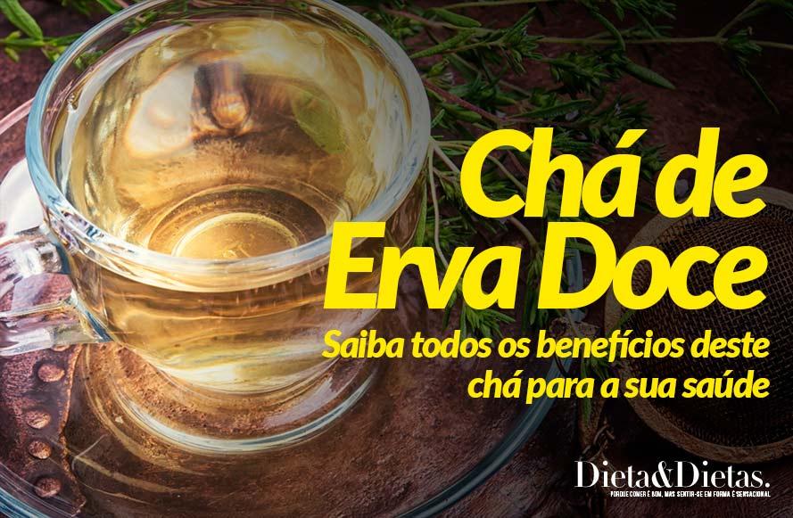 Benefícios do Chá de Erva Doce