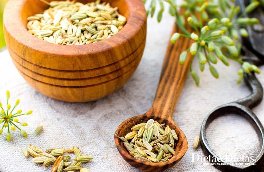 Receita de chá de erva doce
