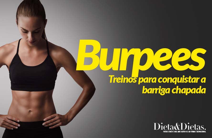 Burpees – Treinos para Conquistar a Barriga Chapada