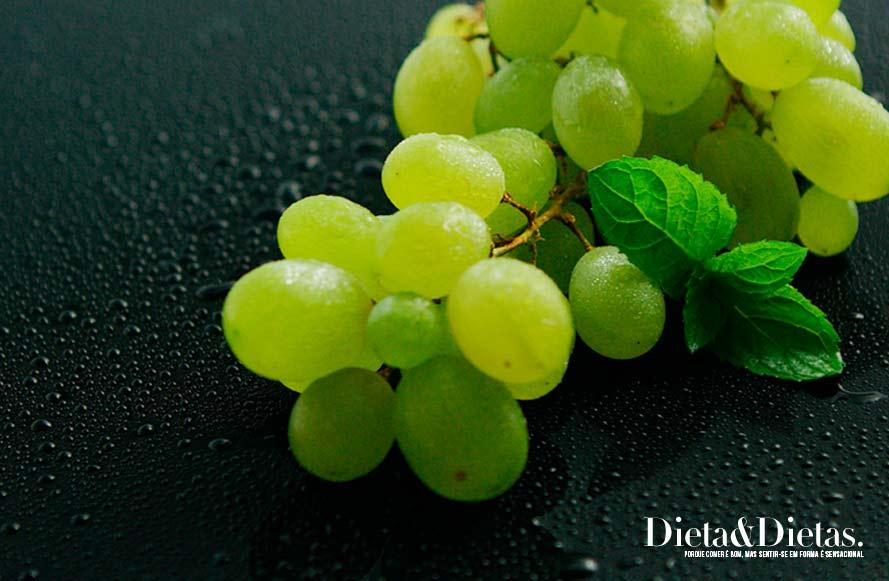 uva Frutas Que os Diabéticos podem Comer