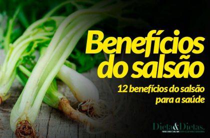 12 Benefícios do Salsão para a Saúde