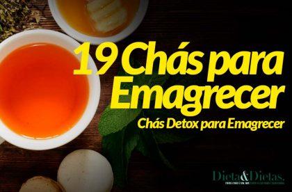 19 Chás Detox para Emagrecer