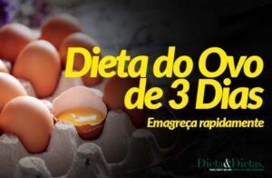Dieta do Ovo 3 Dias