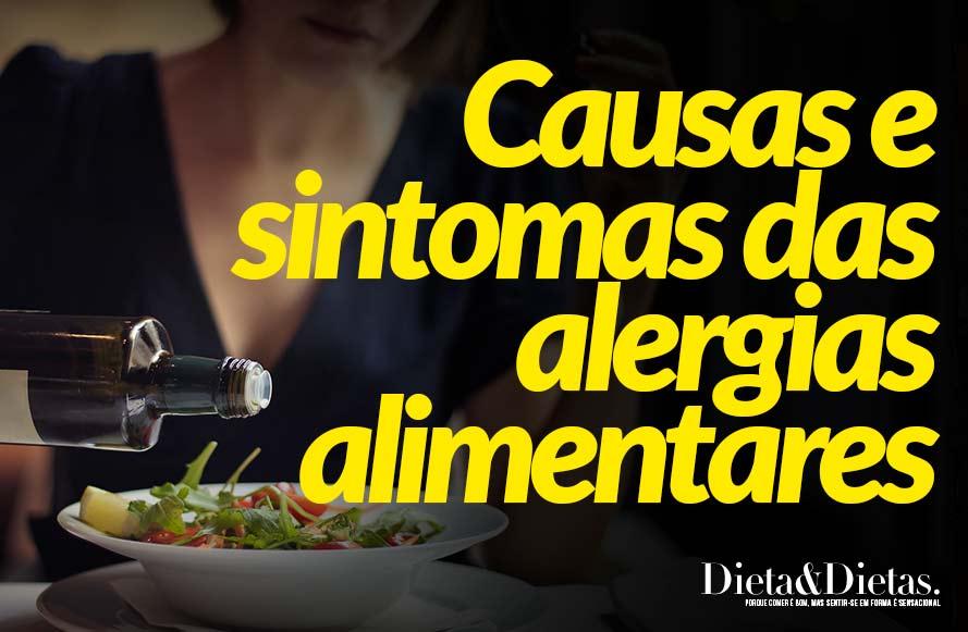 Causas e sintomas das alergias alimentares